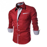New Fashion Long Sleeve Shirt for Men  size mlxl