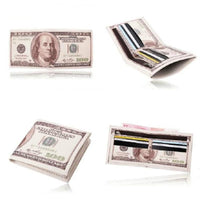 new Money Clip leather Wallet for man - sparklingselections