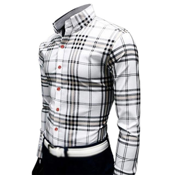 new Casual design business formal shirts size mlxl