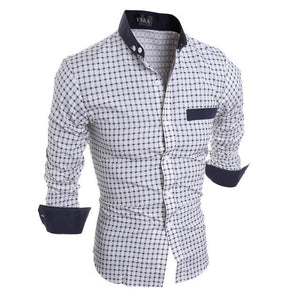 new Mens Stylish Slim Fit Shirt size mlxl