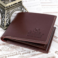 new mens PU Leather Designer wallet - sparklingselections