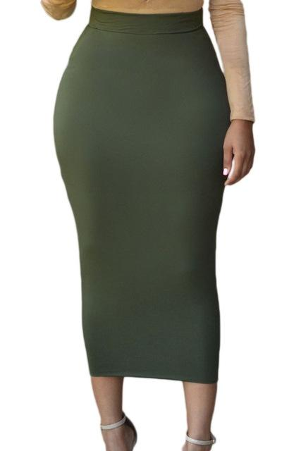 new Spring Casual Straight Skirts For Women size sml