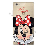 new Cartoon printed Cases For Huawei Ascend P8 Lite - sparklingselections