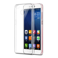 new Ultra thin Transparent Soft Cover Phone Case For Redmi 4 - sparklingselections
