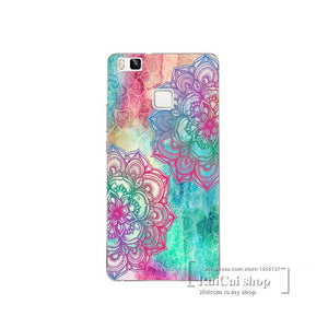 Super Beautiful Flowers Case mobile cover For Huawei