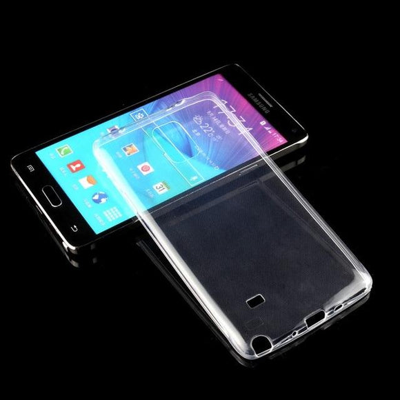 new Mobile Thin Skin Gel cover For Samsung Galaxy Note 4