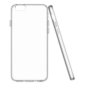 Transparent Soft Silica Gel mobile Case For iPhone 7