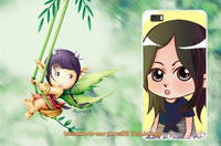 new cute Littel Girl mobile Cases For Huawei Ascend P8 Lite - sparklingselections