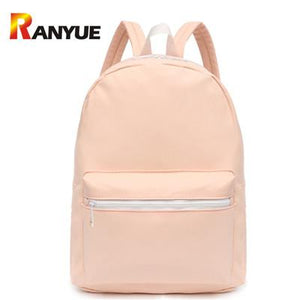 new Women pink Glossy Backpacks