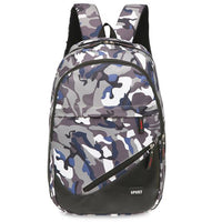 New Travel Canvas Camouflage School Bag Fashion Solid Soft Handle Polyester Unisex Backpacks Handbags - sparklingselections