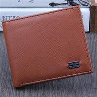 new man Top Quality Business Leather wallet - sparklingselections