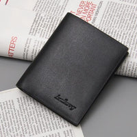 new Ultra thin men casual leather wallet - sparklingselections