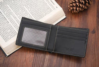 new Men casual Leather Business Wallet - sparklingselections