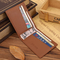 new men fashion business leather wallet - sparklingselections