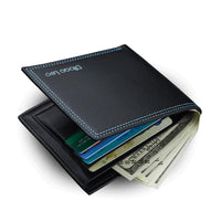 new Men Leather Credit Card Holder wallet - sparklingselections