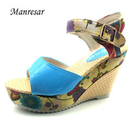 new Superior Quality Colorful Summer comfortable sandals for woman size 5675 - sparklingselections
