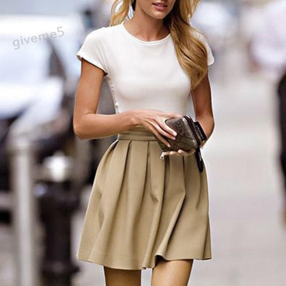 new Women Spring Summer casual Skirt size mlxl