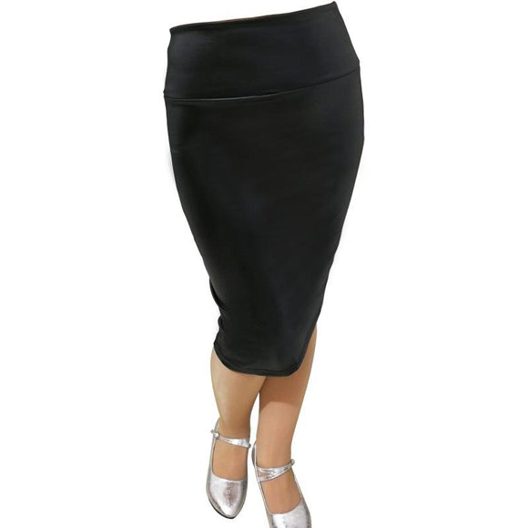 new Fashion Woman casual leather Skirts size sml
