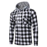 Men's Long Sleeve Big Check Multicolor Sweatshirts