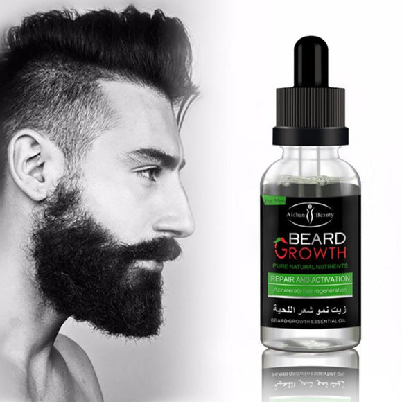 New Professional Men Beard Growth Enhancer Facial Nutrition