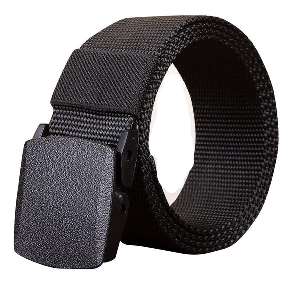 Men's  Canvas Tactical Casual Belts