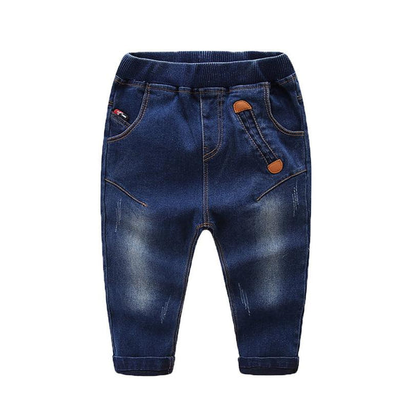 New Autumn Solid Regular Denim Jeans For kids size 345t