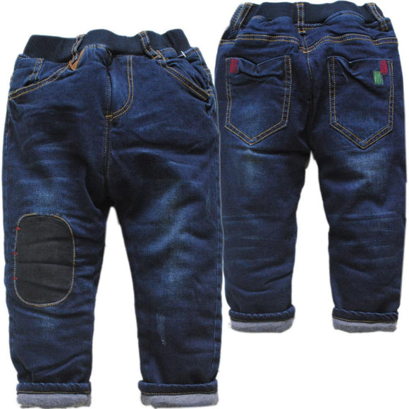 new very warm kids winter jeans size 234t