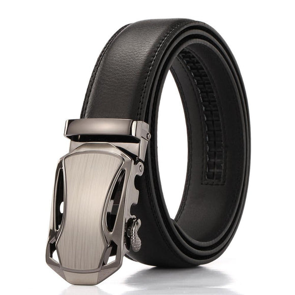 Men Car Shaped Automatic Buckle Belt