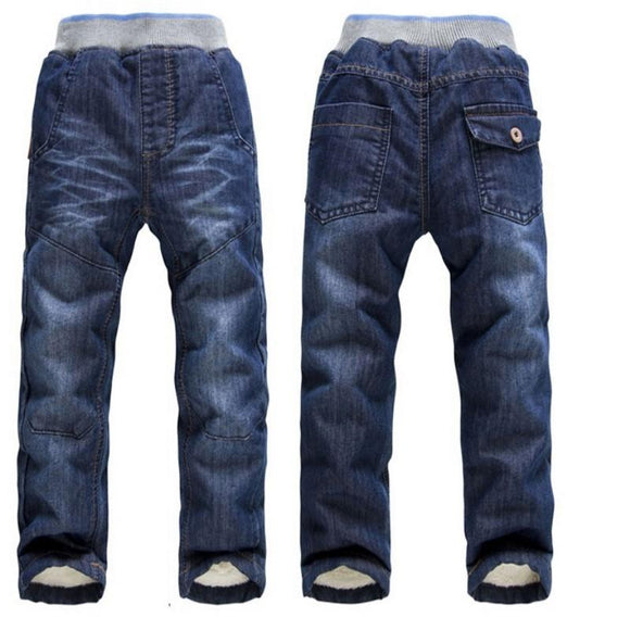 New Arrival kid Thick Winter Warm Trousers size 34t