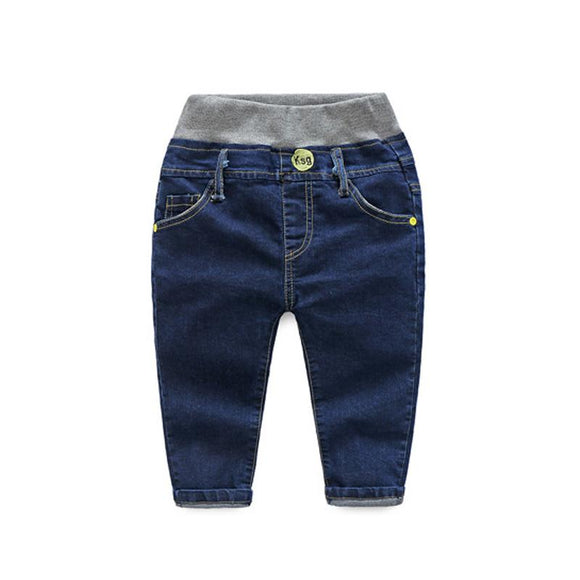 new Autumn Kids Casual Blue Denim Trousers size 456
