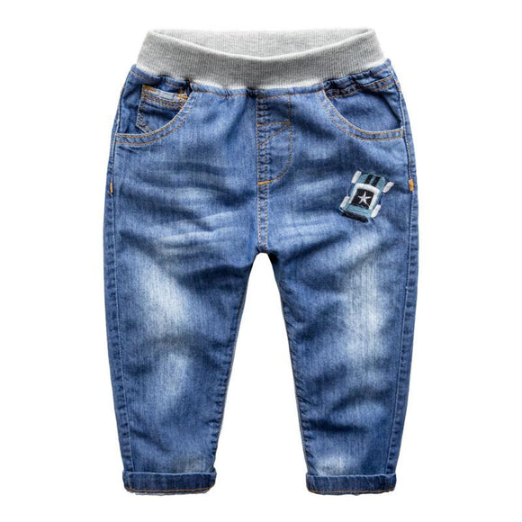 new Spring and Autumn kid's denim jeans size 346t