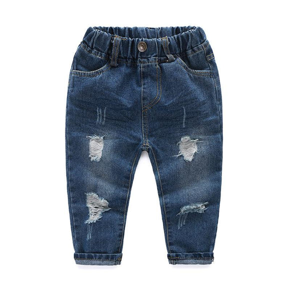 New Autumn Elastic Waist Jeans for outdoor size 345t