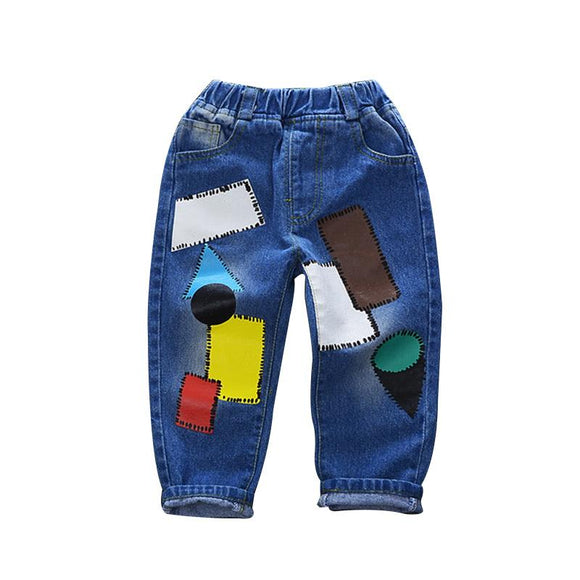 new Fashion Kids Jeans For outdoor size 345t