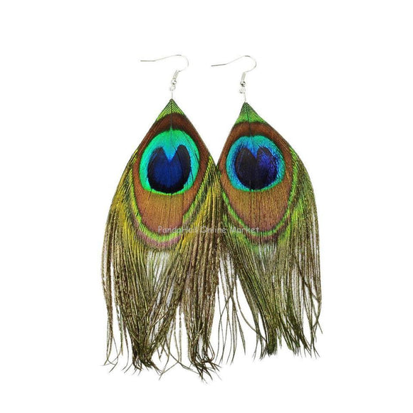 Women Mardi Grass Thread Beautiful Earrings