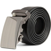 Men Leather Automatic Buckle Belts - sparklingselections