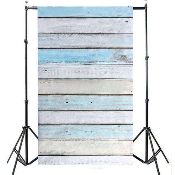 3 X 5FT Striped Wood Photography Backdrops Wooden Wall