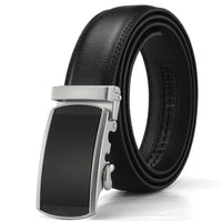 Men Automatic Buckle Ratchet Belts - sparklingselections