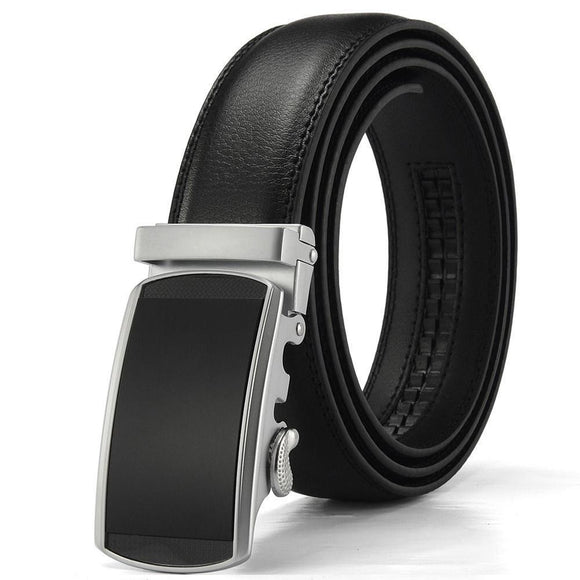 Men Automatic Buckle Ratchet Belts