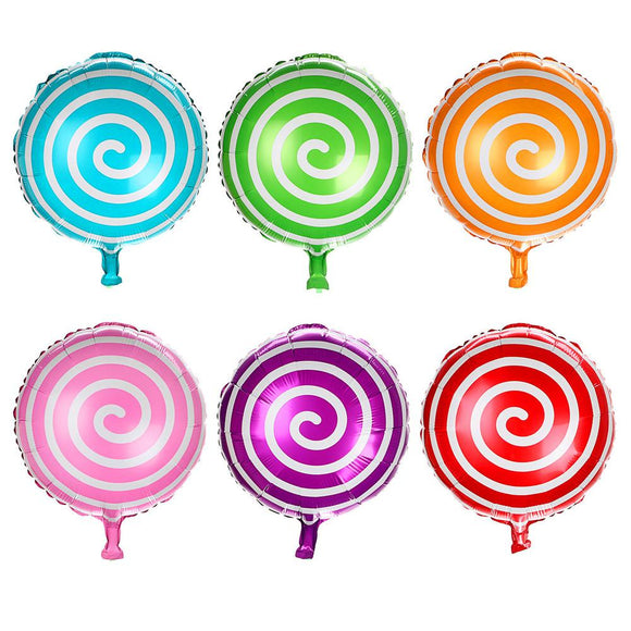 Candy Helium Foil Balloons 10pcs