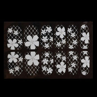 Diamond Flower Stickers Nail Art Tips Nail Art Decorations - sparklingselections