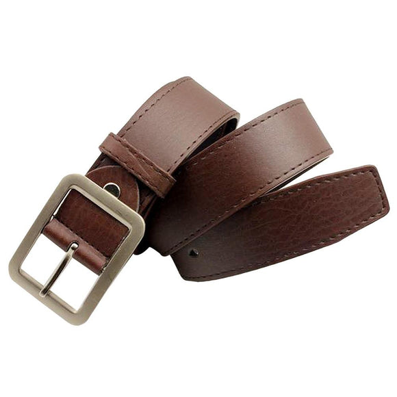 Men Wide Classic Adult Leather Belt