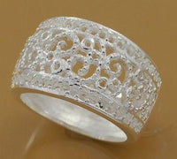 Silver plated Plant Shape Ring (R211)