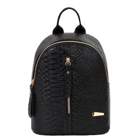 New Designer Women Leather Travel Shoulder Backpacks
