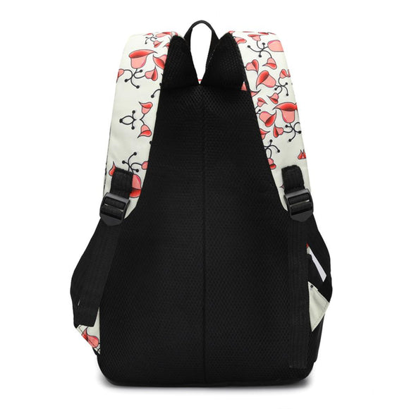 New Women Casual Floral Printed Backpacks