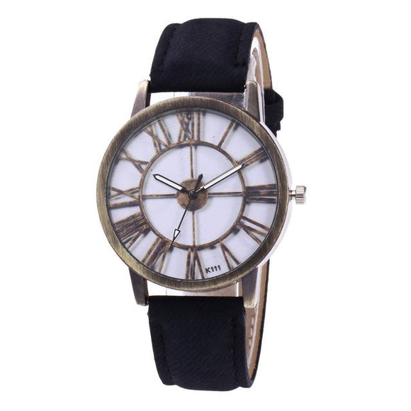 new Fashion Silicone Printed Flower Causal Quartz Watches