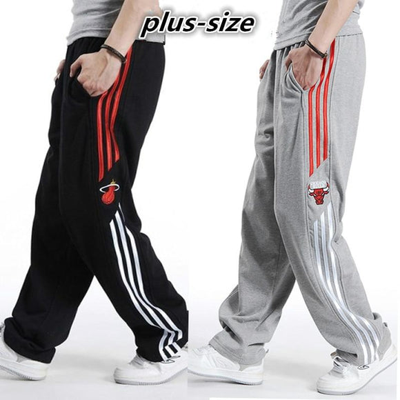 Plus Size Elastic Waist Elderly Baggy Jogger Sweatpants