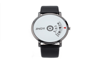 New Creative Minimalist Calendar Quartz Watch for Unisex - sparklingselections