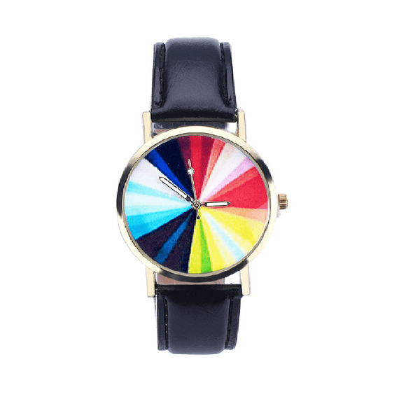 New Stylish Classic Sports Business Colorful Wristwatch