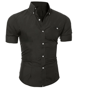 Men's Short Sleeve Casual Shirt size mlxl