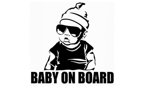 Baby On Board Creative Fashion Car Sticker